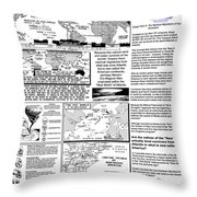 The Nautical Migrations Of Our Ancestors Throw Pillow