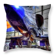 The Navy's Blue Angel Throw Pillow