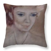 The Necklace Throw Pillow