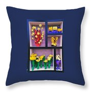 The Nederlands Tulip Festival 2 Throw Pillow