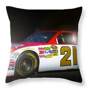 The Need For Speed 21 Throw Pillow by Kenneth Krolikowski