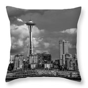 The Needle Throw Pillow
