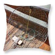 The Net Throw Pillow