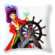 The Neverland's Sailor Throw Pillow
