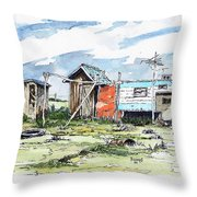 The New American Dream Throw Pillow