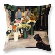 The New Deal Throw Pillow