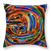 The New Earth Throw Pillow