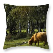 the New forest creatures Throw Pillow