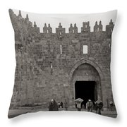 The New Gate Throw Pillow