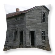The New Homestead Throw Pillow