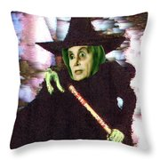 The New Wicked Witch Of The West Throw Pillow