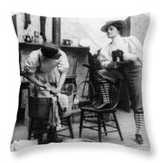 The New Woman, C1897 Throw Pillow by Granger