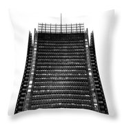 The New York Times Building, Midtown New York Throw Pillow