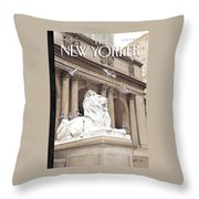 It Is A Jungle Out There Throw Pillow