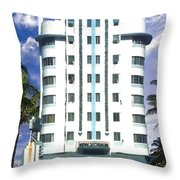 The New Yorker Throw Pillow by Steve Karol
