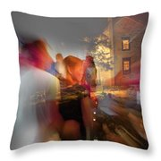 The Night Gerald Turned 60 Throw Pillow