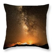 The Night Heaven Struck The Earth Throw Pillow
