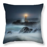 The Night Keeper Throw Pillow