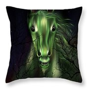 The Night Mare Throw Pillow