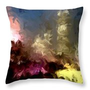The Night Moves Throw Pillow