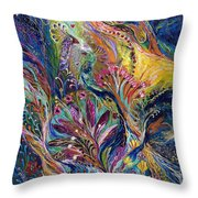 The Night Wind ...you Can Purchase The Original On Www.elenakotliarker.com Throw Pillow