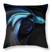 The Nighthawk Throw Pillow