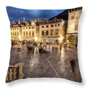 The Nights Of Dubrovnik Throw Pillow