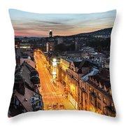 The Nights Of Sarajevo Throw Pillow