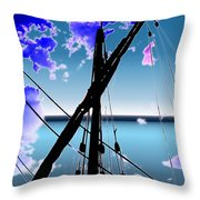 The Nina Mast Throw Pillow