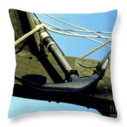 The Ninas Anchor Throw Pillow