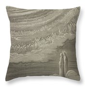 The Ninth Heaven Throw Pillow