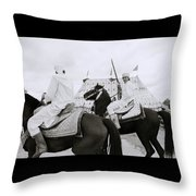 The Noble Berber Throw Pillow