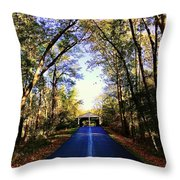 The North Gate Throw Pillow