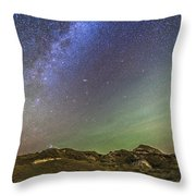 The Northern Autumn Stars Throw Pillow