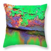 The Northern Lights Throw Pillow