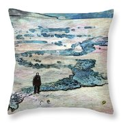 The Nowhere Man By Mary Bassett Throw Pillow