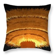 The Nuclear Age Throw Pillow