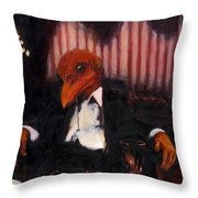 The Numbers Man Throw Pillow
