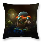 The Nursery Throw Pillow