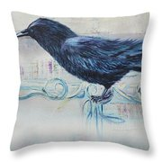 The Obersever Throw Pillow
