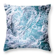 The Oceans Atmosphere Throw Pillow