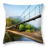 The Ocoee River Dam Throw Pillow