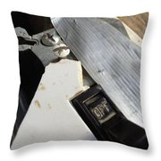 The Off Switch Throw Pillow