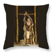 The Offering Throw Pillow