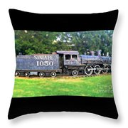 The Old 1050 Throw Pillow