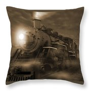 The Old 210 Throw Pillow