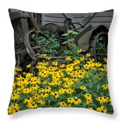The Old And New Throw Pillow