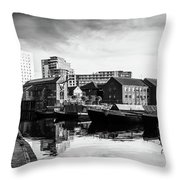 The Old And The New Throw Pillow