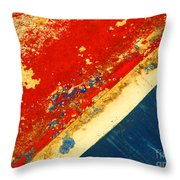 The Old Boat 2 Throw Pillow