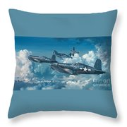 The Old Breed Throw Pillow